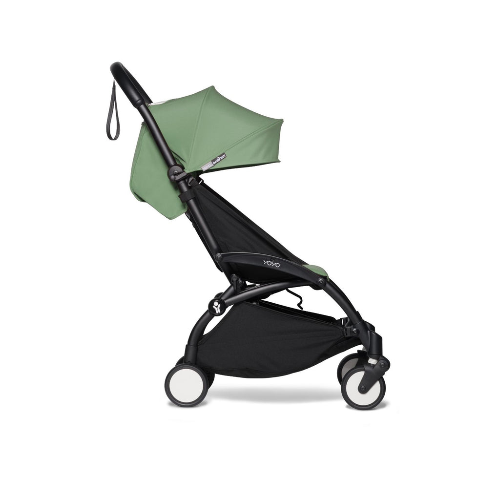 BABYZEN YOYO² Stroller Frame with 6+ Pack - Peppermint (Black Frame)