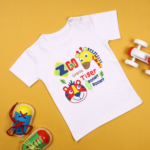 Zoo Day Puffy Tshirt (3-24 Months)