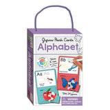 "Jigsaw Flash Cards: Alphabet<br> <span style=""font-size: 11px; font-family:Helvetica,Arial,sans-serif;"">With 24 Jigsaws</span>"