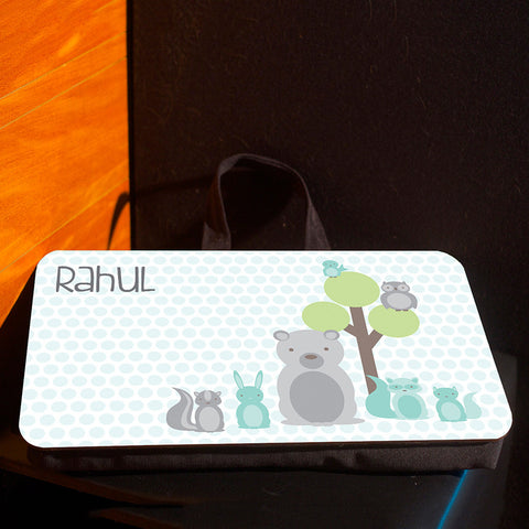 Lap pad <br> Personalised, Animals
