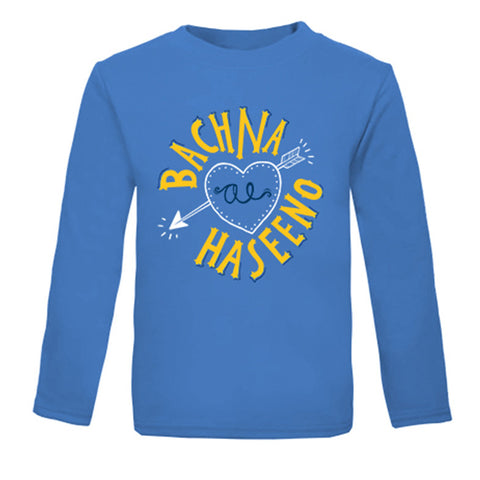 Bachna Ae Haseeno - Organic Long Sleeves Tees for Toddlers