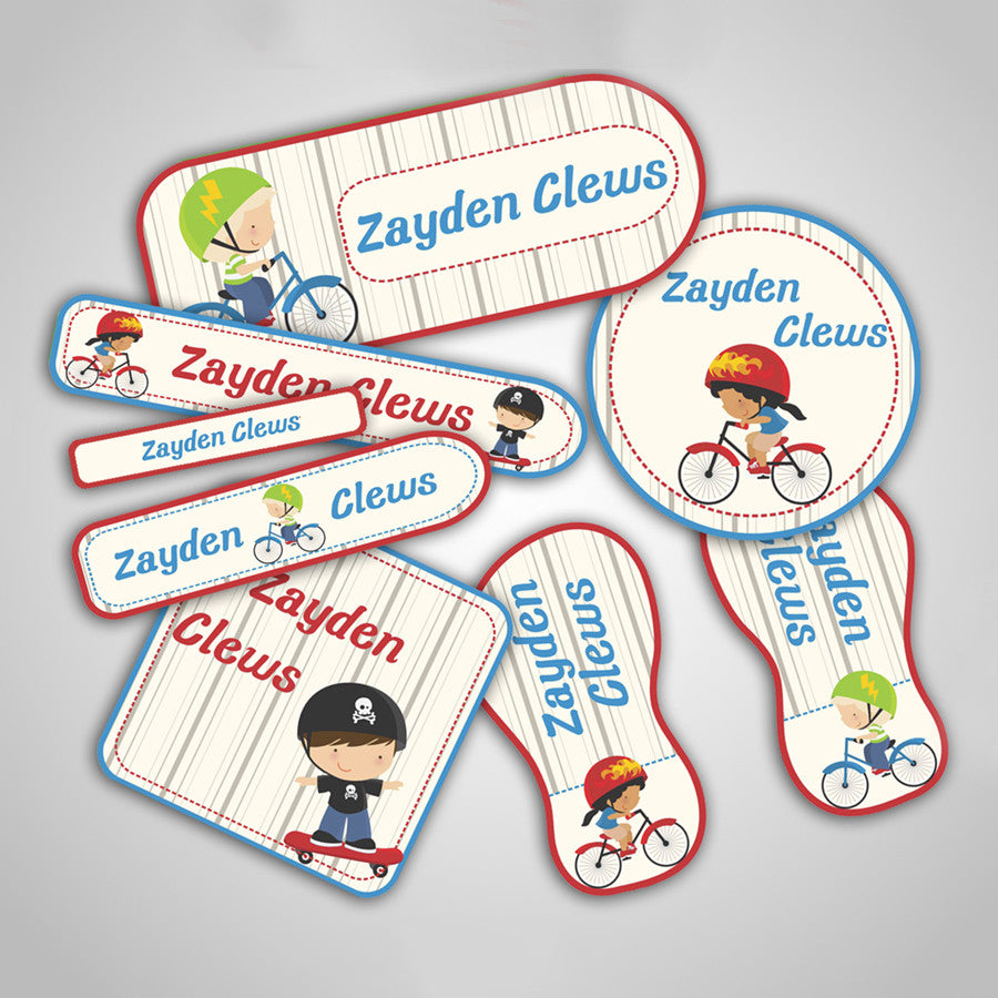 Bicycle Labels Super Saver Set
