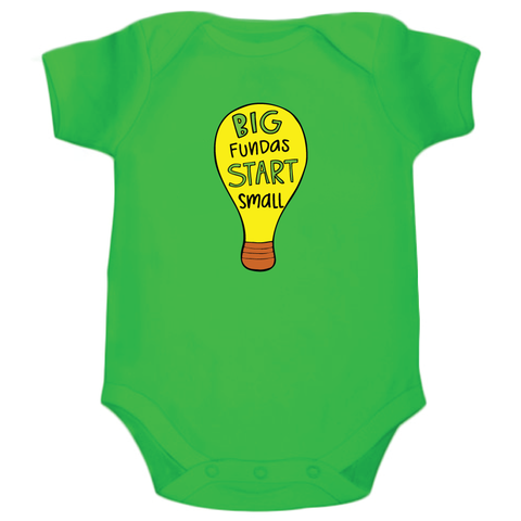 Big Funda's Start Small - Organic Cotton Onesie
