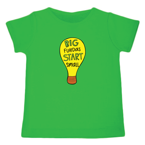 Big Funda's Start Small - Organic Cotton Tees for Toddlers