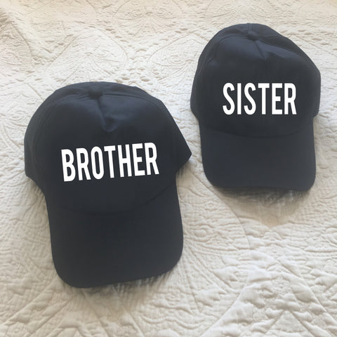 Brother/Sister Caps