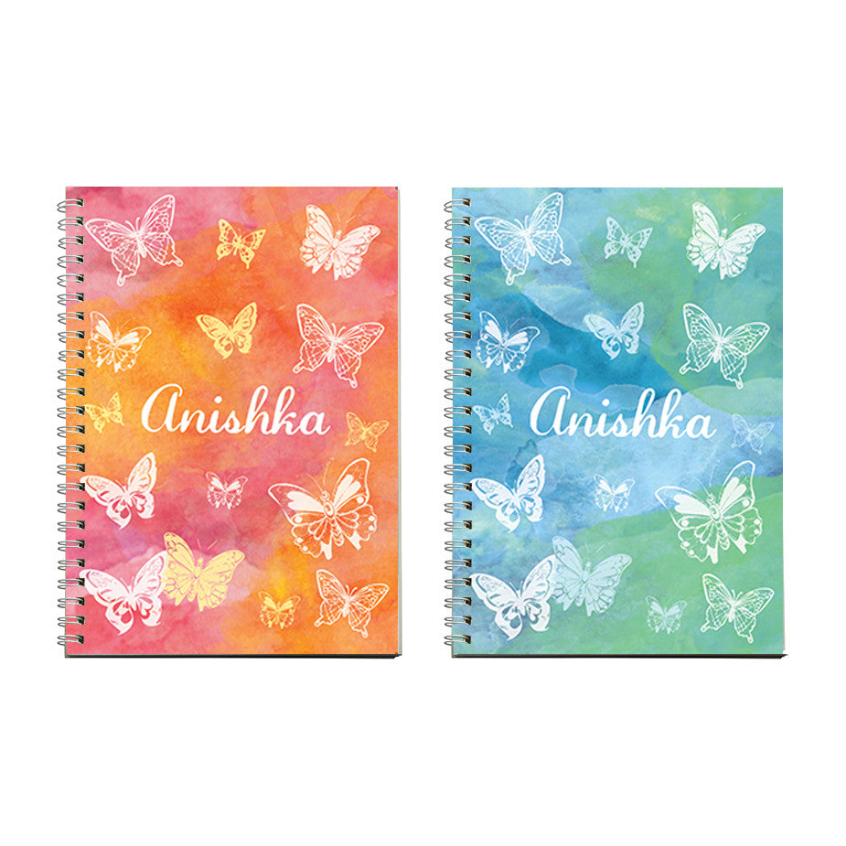 Notebooks - Butterfly, Set of 2