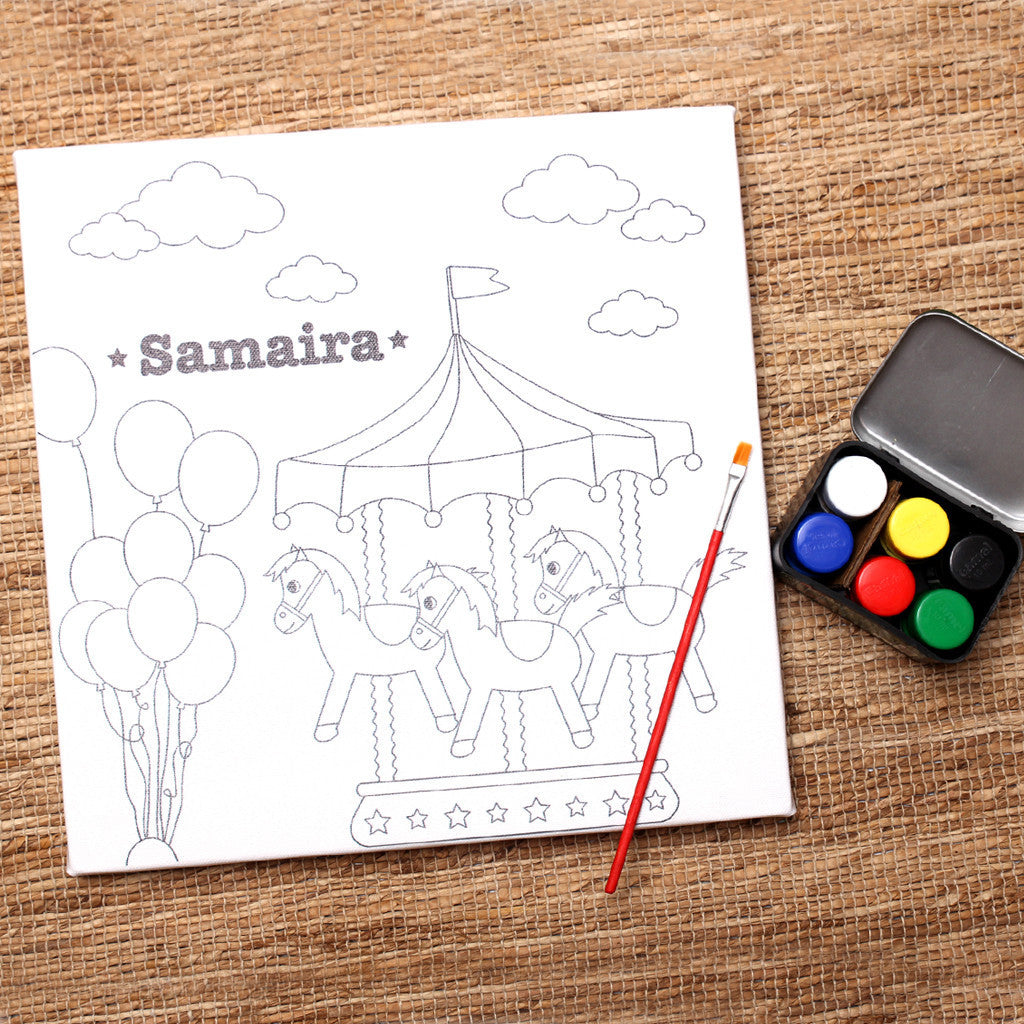 Your First Canvas Art Kit- Carnival