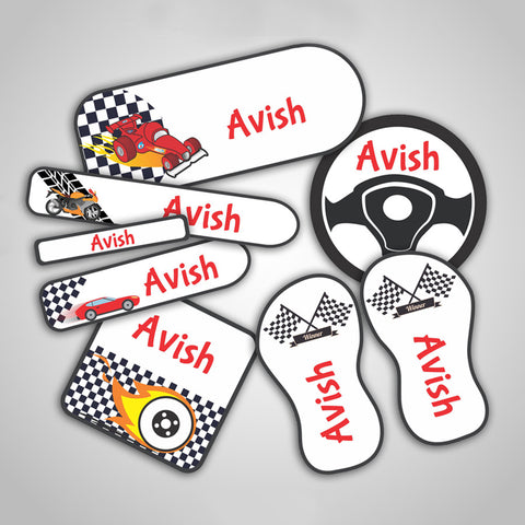 Car Labels Super Saver Set