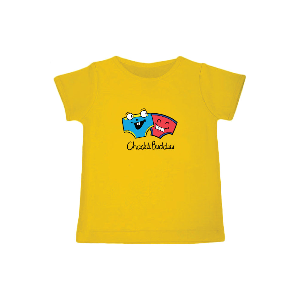 Chaddi Buddies - Organic Cotton Tees for Toddlers