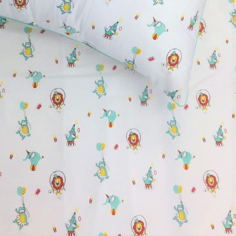 Fitted Cot Sheet - Circus