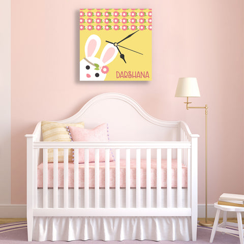 Personalised Clock - For Girls