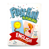 English Alphabet First Fun Flashcards