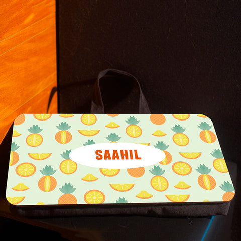 Lap pad <br> Personalised, Fruits