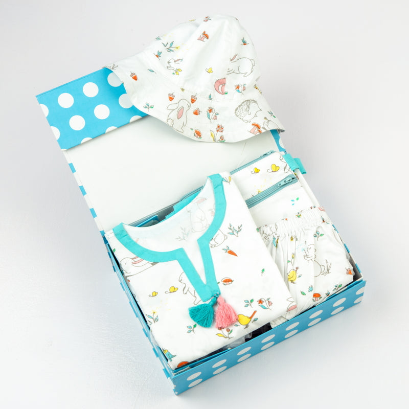 """Fun In The Sun"" Organic Gift Set (Snuggle Bunny)"