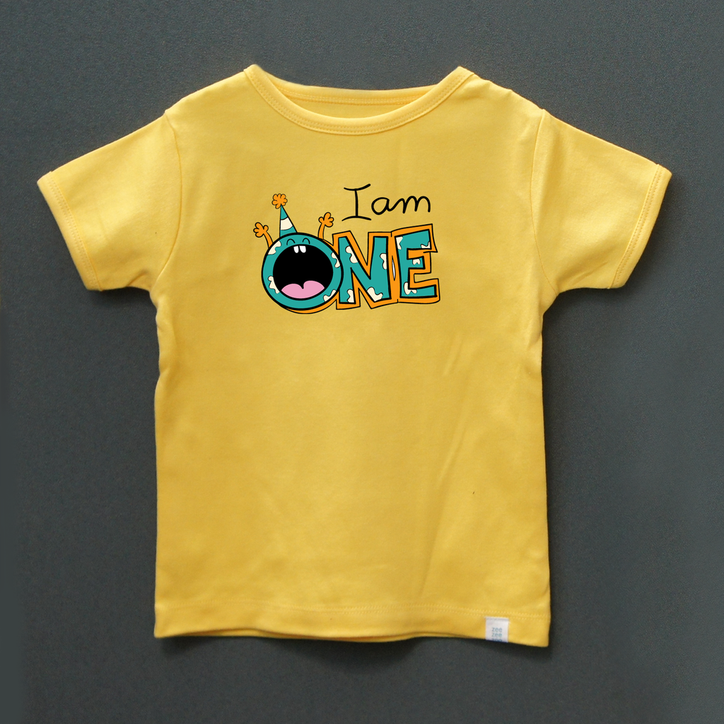 Birthday Tee - I am One