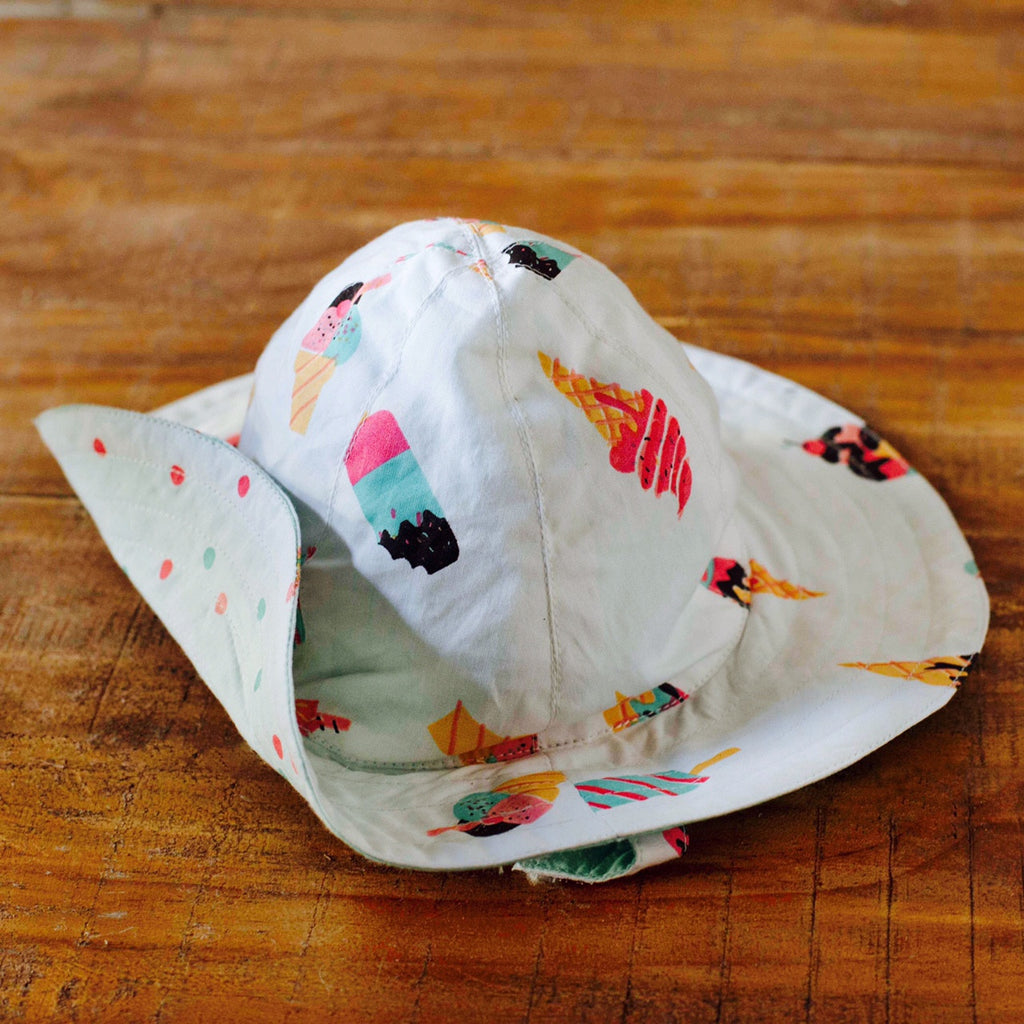 Scoops & Smiles Sun Hat