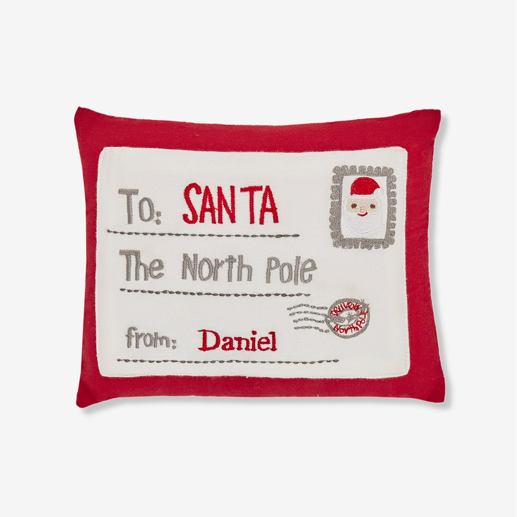 Personalised Pillow - Letter to Santa