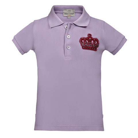 "Short T-Shirt with Crown <br> <span style=""font-size: 10px;"">More Colours Available</span>"