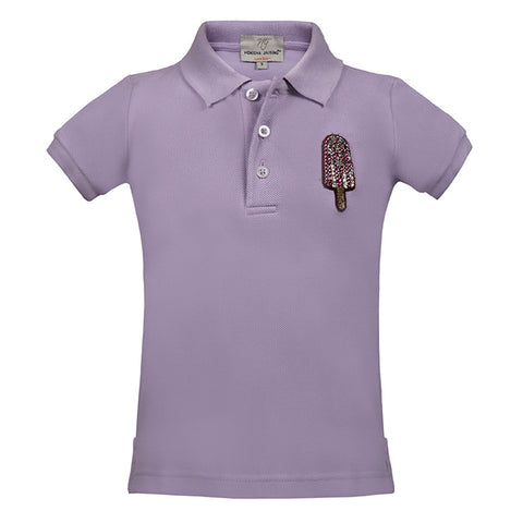 "Short T-Shirt with Ice-Cream Candy <br> <span style=""font-size: 10px;"">More Colours Available</span>"