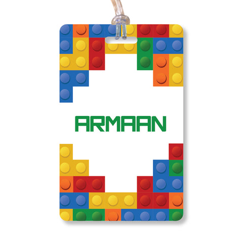Luggage Tags - Lego, Set of 2