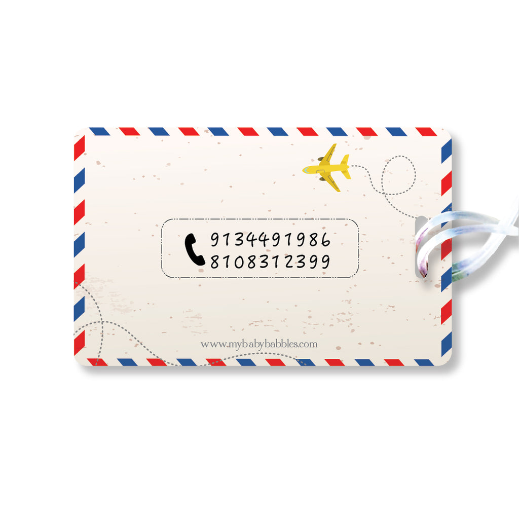 Luggage Tags - Air Mail, Set of 2