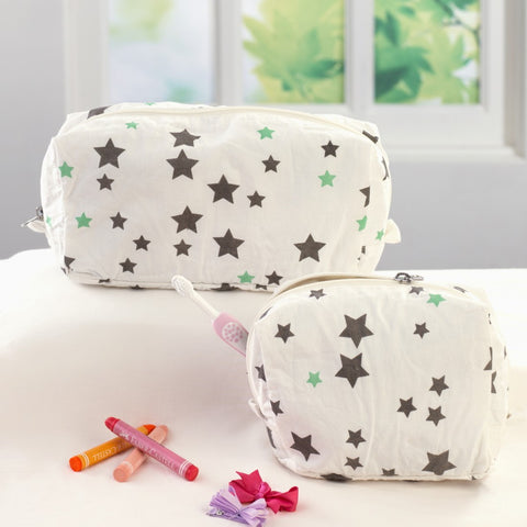 Twinkle Twinkle Travel Pouch Set, Set of 2