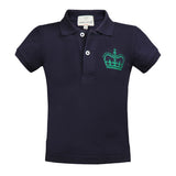 Short T-Shirt with Crown
