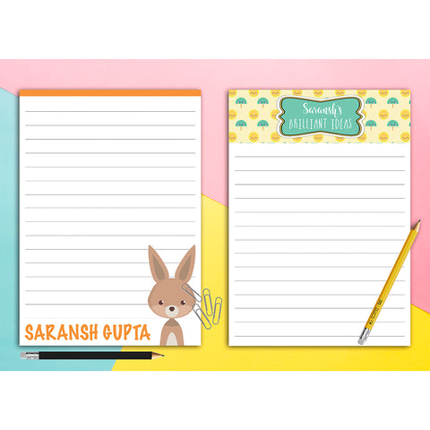 Notepads for Kids, Set of 2