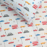Bedsheet Set - Cars - Single/Double Bed Sizes Available