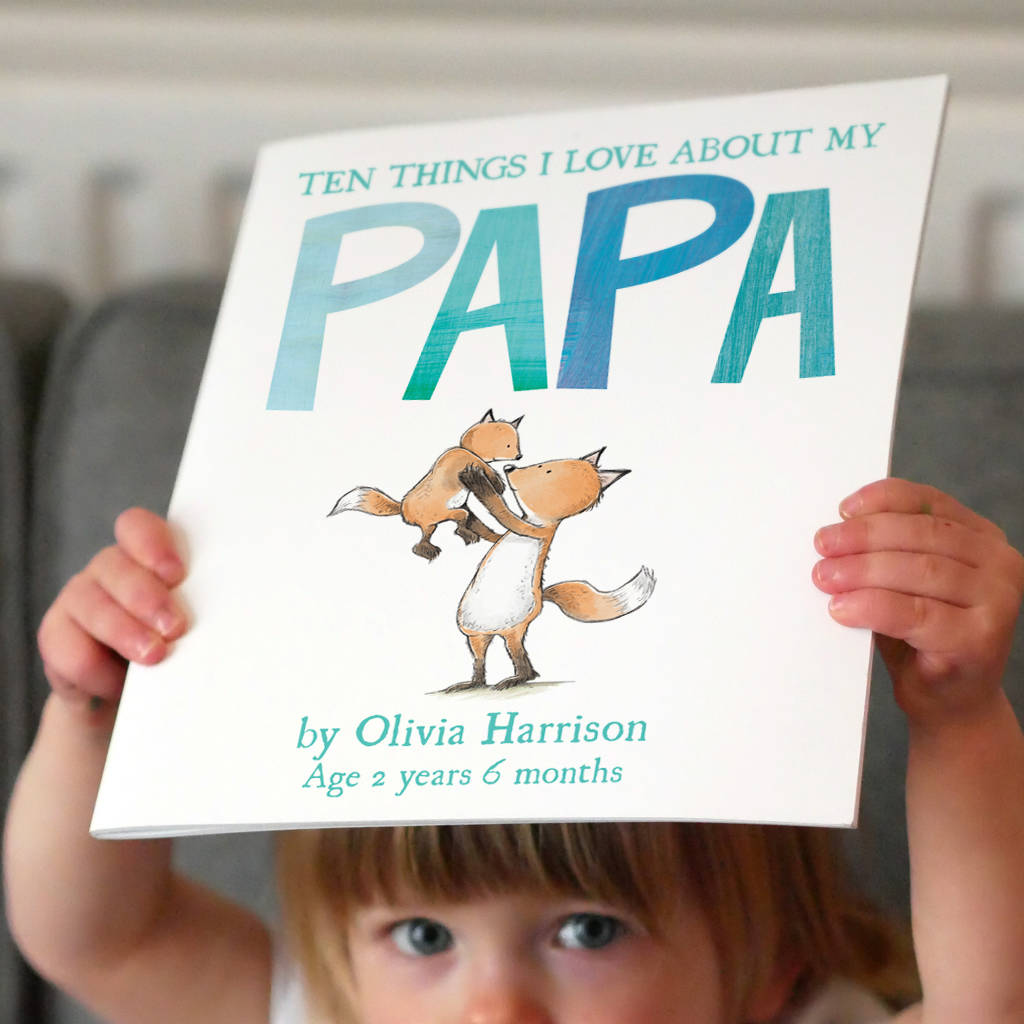 Personalised Storybook - 10 Things I Love About My Daddy