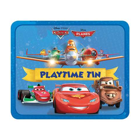 Disney Playtime Tin - Cars, Planes
