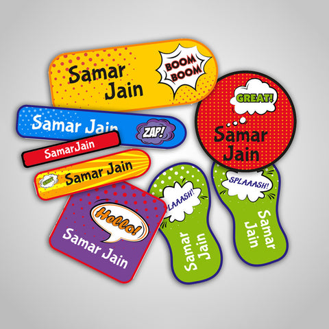 Popart Labels Super Saver Set