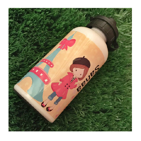 Personalised Water Bottle - Parisian