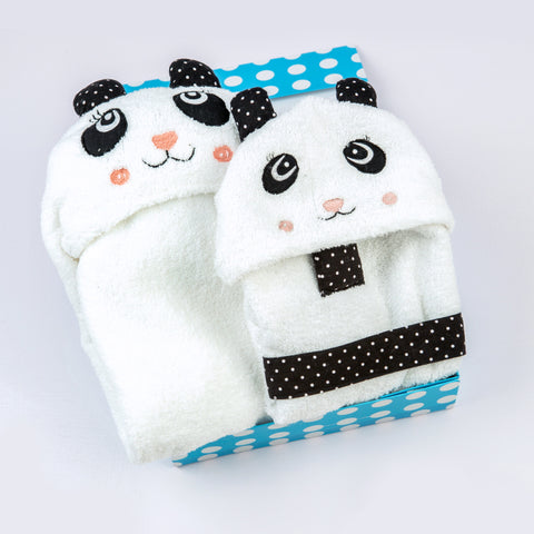 """Spa Time"" Toddler Gift Set (Panda)"