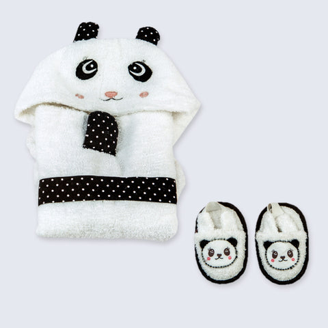 """Spa Time"" New Born Gift Set (Panda)"