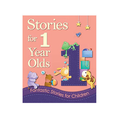 "Stories for 1 year olds<br> <span style=""font-size: 11px; font-family:Helvetica,Arial,sans-serif;"">Fantastic Stories for Children</span>"