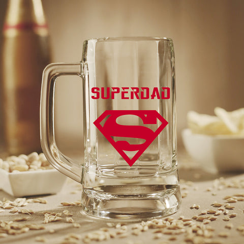Beer Mug - Super Dad