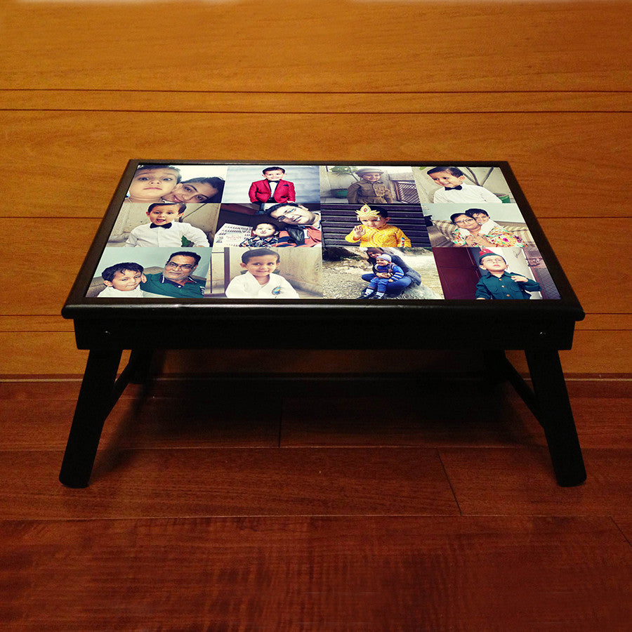Personalised Bed table, with 12 Photos