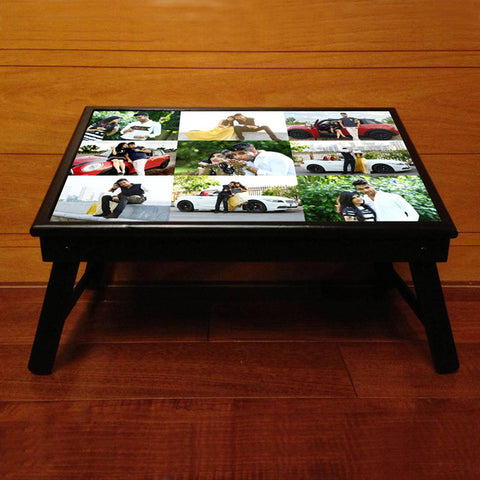 Personalised Bed table, with 9 Photos