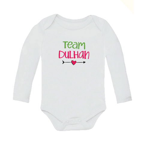 Team Dulhan - Organic Cotton Onesie