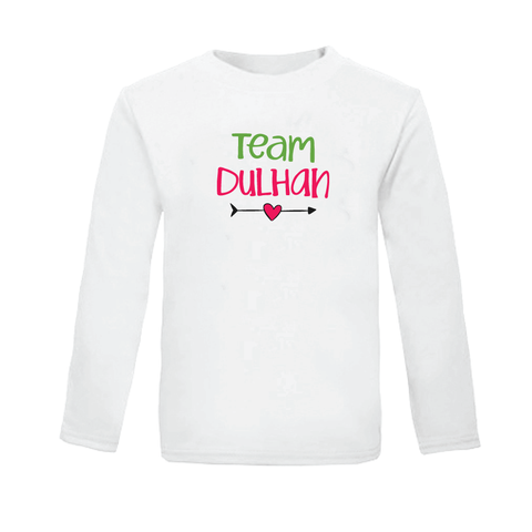 Team Dulhan - Organic Cotton Tees for Toddlers