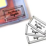 Label them with Love - This Belongs To (Pack of 30)