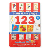 Giant Flash Cards: 123 - 27 Giant Flash Cards
