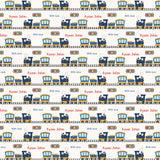 "Personalised Wrapping Paper 19 x 26.5"" - Transport, Set of 10"