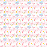 "Personalised Wrapping Paper 19 x 26.5"" - Flamingo, Set of 10"