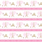 "Personalised Wrapping Paper 19 x 26.5"" - Parisian, Set of 10"