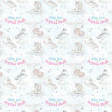 "Personalised Wrapping Paper 19 x 26.5"" - Unicorn Blue, Set of 10"