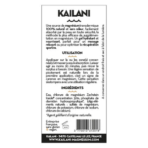 Load image into Gallery viewer, Gel de Magnesium Kailani - 100ml - Supradelic étiquette