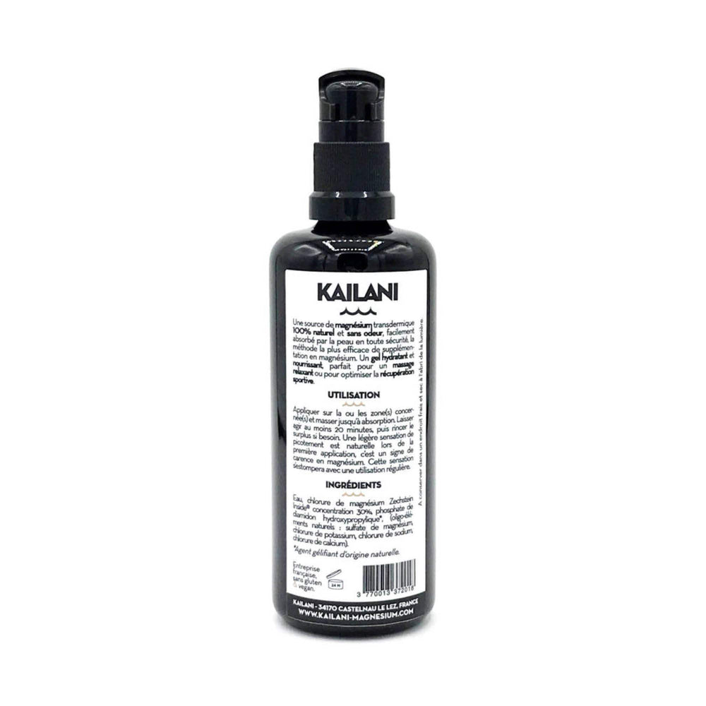 Load image into Gallery viewer, Gel de Magnesium Kailani - 100ml - Supradelic photo flacons dernière