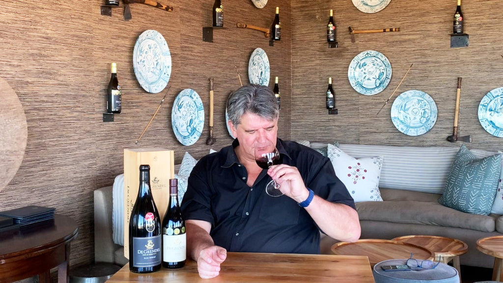 Together with Wine: Charles Hopkins talks Shiraz
